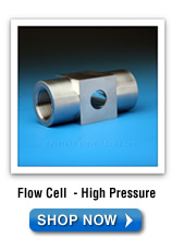 Flow Cell High Pressure Sight Glass | Sight Windows