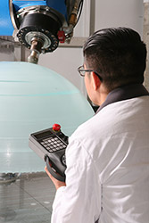 5-Axis Grinding Submersible Dome
