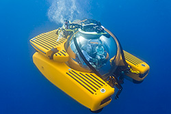 Full Spherical Transparent Ultra-high Pressure Submersible Hull