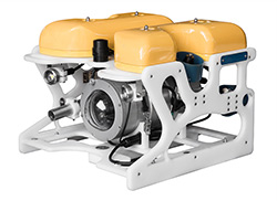 ROV with Glass Pilot Camera Dome